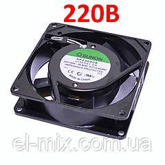 Вентилятор 220VAC, 92х92х25мм, (скольжения)  Sunon SF23092A2092HST