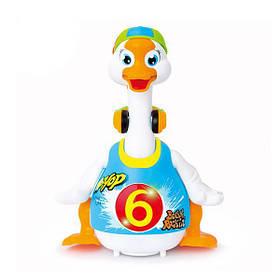Інтерактивна музична іграшка Hola Toys Танцюючий гусак (828-blue)