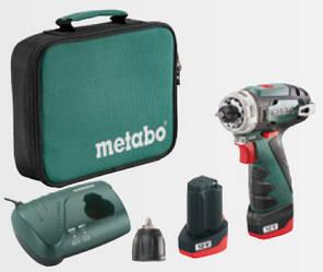 Акумуляторний шуруповерт METABO PowerMaxx BS Basic