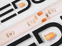 Світлодіодна гнучкий стрічка 18 діодів 3528-12V жовтий 30см