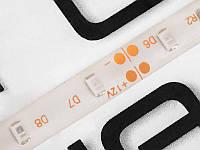 Світлодіодна гнучкий стрічка 24 діодів 3528-12V червоний 40см