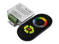 Контролер чорний RGB 18А радіо сенсорний