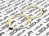 Ангельські оченята COB з колбою діаметр 120мм білий