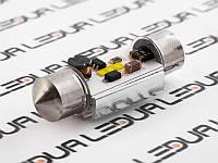 Світлодіодна авто лампа S85-36mm-CSP1818-3W обманка 12-24V білий
