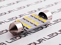 Світлодіодна авто лампа S85-39mm-12smd 2835 12V білий