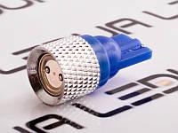 Світлодіодна авто лампа T10-0.5 W high power синій 12V