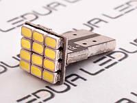 Світлодіодна авто лампа T10-1206-12smd 12V білий