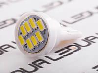 Світлодіодна авто лампа T10-1206-8smd білий 24V