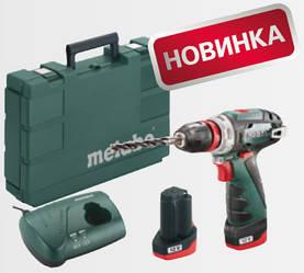 Акумуляторний шуруповерт METABO PowerMaxx BS Quick Basic