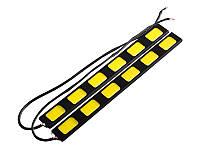 Денні ходові вогні COB-93 6smd 12V білий
