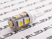Світлодіодна авто лампа T10-5050-9smd білий 24V