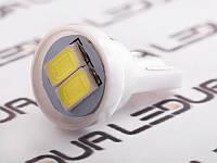 Світлодіодна авто лампа T10-5630-2smd білий 24V