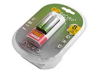 Зарядний пристрій GP ReCyko+U211 с USB+2 акумулятори HR6 2000mAh (2 канали)