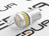 Світлодіодна авто лампа T25 3014-54шт./3030-3шт. SMD 1156 білий 12V