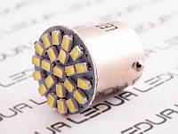Світлодіодна авто лампа T25-1206-22SMD 1156 білий 12V