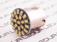 Світлодіодна авто лампа T25-1206-22SMD 1157 білий 12V