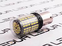 Світлодіодна авто лампа T25-3014-144SMD 12-24v 1156 білий