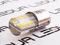 Світлодіодна авто лампа T25-5050-12SMD силікон 1156 білий 24V
