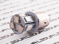 Світлодіодна авто лампа T25-5050-8SMD 1157 зелений 24V