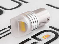 Світлодіодна авто лампа T25-5630-3SMD плоска 1156 білий 24V