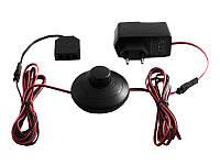 Комплект драйвер 12W+ножний вимикач+розподільча коробка,чорний