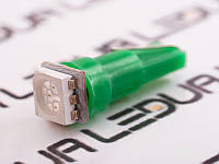 Світлодіодна авто лампа T5-5050-1smd зелений 24V