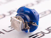 Світлодіодна авто лампа T5-B8.4-1smd-5050 синій 24V