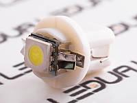 Світлодіодна авто лампа T5-B8.5-1smd-5050 білий 24V
