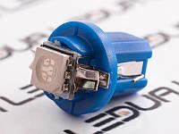Світлодіодна авто лампа T5-B8.5-1smd-5050 синій 24V