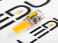 Світлодіодна лампа G4 12V силікон 3,5 W 4500K cob1505