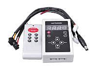 Контролер RGB бігущий вогонь 6 кнопок, 133 режиму