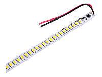 Світлодіодна лінійка 5730-72led IP20 14,4W 6500K 220V 500мм D4