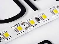 Світлодіодна стрічка 2835-120led-8mm-12V, IP20 20-25lm білий