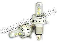Світлодіодна авто лампа H4-Headlight 7S Gree 40w 8000lm 12/24V
