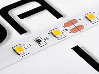 Світлодіодна стрічка 2835-60led-8mm-12V, IP20 подвійна плата тепло білий