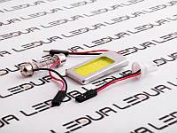 Світлодіодна авто лампа PCB 3W білий (25*17-18) 12V