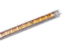 Світлодіодна стрічка 3014-120led-10mm-220V жовта плата, IP68 білий