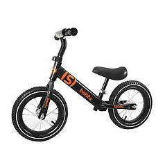 Беговел дитячий Baishs 058 Black двоколісний велосипед без педалей для малюків