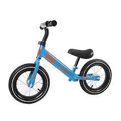 Беговел дитячий Baishs 058 Blue двоколісний велосипед без педалей для малюків