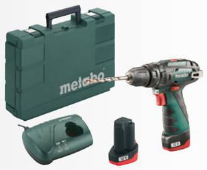 Акумуляторний ударний шуруповерт METABO PowerMaxx SB Basic