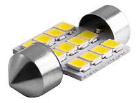 Світлодіодна авто лампа S85-31mm-12smd 3528 12V білий