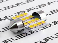 Світлодіодна авто лампа S85-31mm-16smd 2835 12V білий