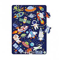 """Дитячий пазл в рамці """"Космос"""" DoDo R300220, 53 деталі"""