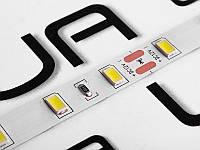 Світлодіодна стрічка 5630-60led-10mm-12V, IP20 25-30lm подвійна плата білий