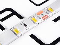 Світлодіодна стрічка 5730-60led-10mm-12V, IP65 подвійна плата білий
