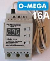 Терморегулятор цифровой ТРМ-16 (-55...+125) с термозащитой, фото 1