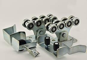 Фурнитура для откатных сдвижных ворот SP-7 Standart Pro для ворот до 500 кг (Длина направляющей 7 м)