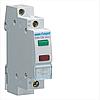 Індикатор подвійний LED, 230В, зелений і червоний, 1м SVN126