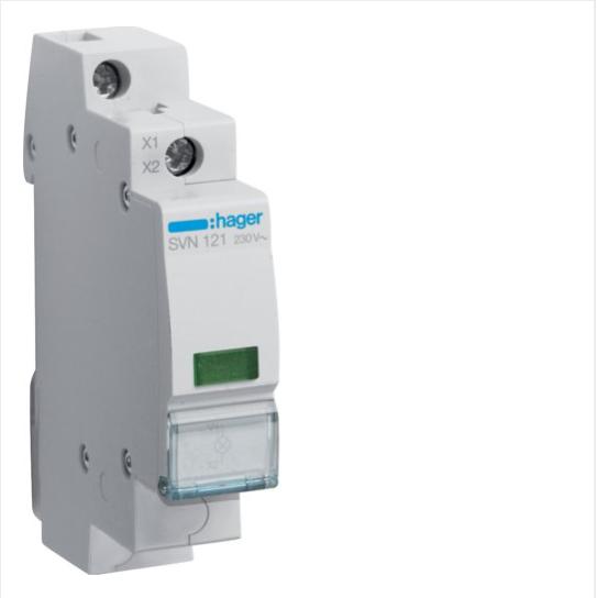 Індикатор LED 12/48 В, зелений, 1м SVN131