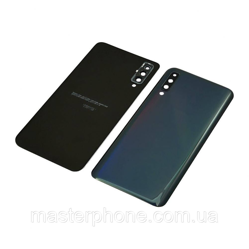 Задня кришка для Samsung A505 Galaxy A50 (2019) чорна